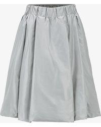 Bogner - Bianca Skirt In Silver Gray - Lyst