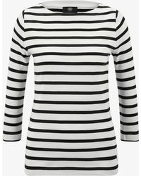 Bogner - Dalia Longsleeve In Black/white - Lyst