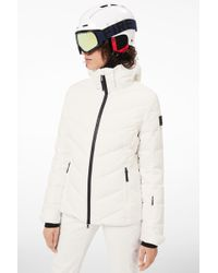 Bogner - Sassy Down Ski Jacket In Off-white - Lyst