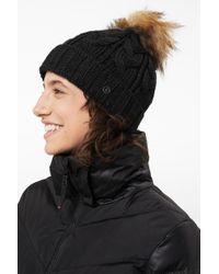 Bogner - ??vineta Knitted Hat In Black - Lyst