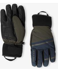 Bogner - Maik Gloves In Olive Green/navy Blue - Lyst