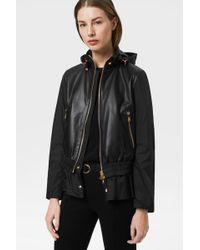 Bogner - Lena Leather Jacket In Black - Lyst