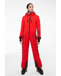 Bogner - Maggy Ski Overall In Red - Lyst