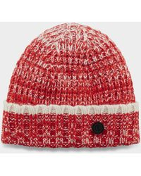 11a06dd7769ab4 Bogner - Albi Knitted Hat In Red/white - Lyst