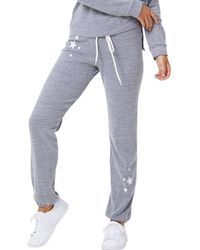 Monrow - Embroidered Star Vintage Sweats - Lyst