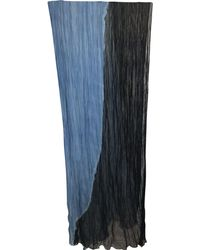 Raquel Allegra - Tie Dye Crinkle Scarf - Lyst