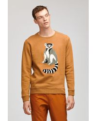 Bonobos - Lemur Fleece Crew Neck - Lyst