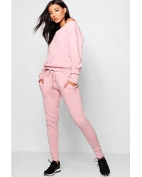 Boohoo - Boutique Faith Heavy Knitted Loungewear Set - Lyst