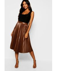 085fd7ccaf Leather Skirts - Women's Designer Leather Skirts - Lyst