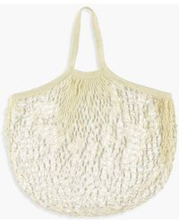 Boohoo - Netted String Bag - Lyst