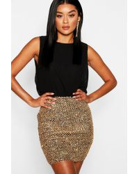 f1a367ec0c07 Boohoo Frey All Over Lace Cross Back Bodycon Dress in Black - Lyst