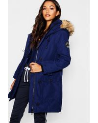 Boohoo Arctic Padded Jacket