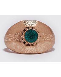 Boohoo Stone Vintage Look Ring