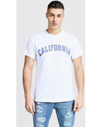 4bb00b669 Vans Long Sleeve Top California Natives in White for Men - Lyst
