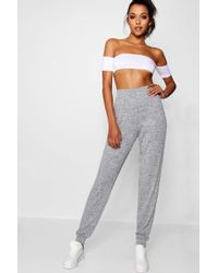 Boohoo - Tall Knitted Joggers - Lyst