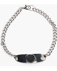 Boohoo - Multi Pack Bracelets In Silver Effects - Lyst