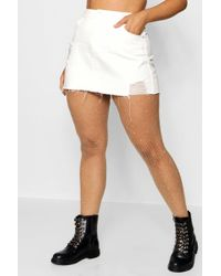 Boohoo - Plus Small Scale Embellished Fishnet Tights - Lyst