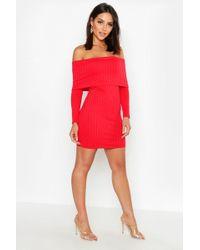 362d10557af98 Ted Baker Harpah High Low Dress With Folded Neckline in Pink - Lyst