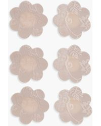 Boohoo - 3 Pack Lace Nipple Covers - Lyst