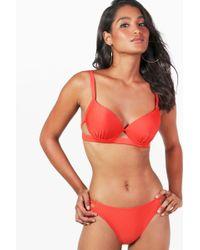 Boohoo Paris Underwired Strappy Bikini