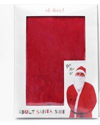 Boohoo - Santa Suit - Lyst