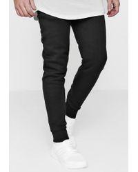 Boohoo - Skinny Fit Basic Fleece Joggers - Lyst