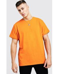 BoohooMAN - Loose Fit Batwing Sleeve T-shirt - Lyst