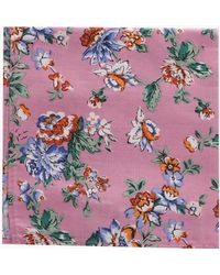 Boohoo - Floral Pocket Square - Lyst