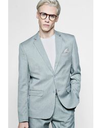 Boohoo - Slim Fit Suit Jacket - Lyst