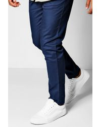 Boohoo - Slim Fit Chino With Stretch - Lyst