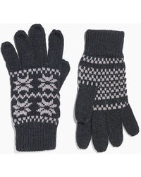 Boohoo - Fairilse Snowflake Gloves - Lyst