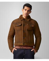 Bottega Veneta - Jacket In Shearling - Lyst