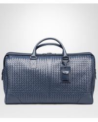 Bottega Veneta - Large Duffel Bag In Light Tourmaline Intrecciato Vn - Lyst