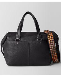 Bottega Veneta - Nero/dark Leather Cervo Duffel - Lyst