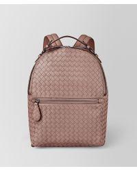 Bottega Veneta - Backpack In Intrecciato Nappa - Lyst