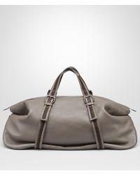 Bottega Veneta - Duffel Bag In Steel Cervo - Lyst