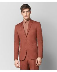 Bottega Veneta - Dark Hibiscus Cotton Jacket - Lyst