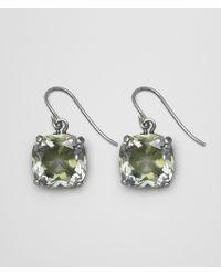 Bottega Veneta - Chamomile Cubic Zirconia/oxidized Silver Earrings - Lyst