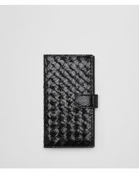 Bottega Veneta - Nero Ayers/intrecciato Nappa High-tech Case - Lyst