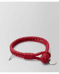 Bottega Veneta - Bracelet In Intrecciato Nappa - Lyst