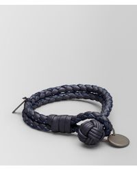 Bottega Veneta - Tourmaline Intrecciato Nappa Bracelet - Lyst