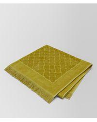 Bottega Veneta - Olive Cotton Beach Towel - Lyst