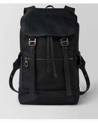 Bottega Veneta - Nero Hi-tech Canvas Sassolungo Backpack - Lyst