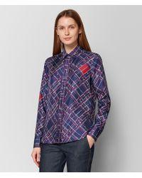 Bottega Veneta - Multicolor Silk Shirt - Lyst