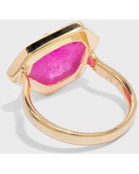 Monica Vinader - Petra Ring, Size Ukk, Women, Pink - Lyst
