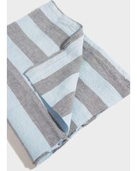 Frescobol Carioca - Large Striped Linen Beach Towel - Lyst
