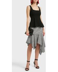 Theory - Modern Flare Top - Lyst