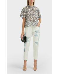 Étoile Isabel Marant - Lea Geometric-pattern Jeans - Lyst