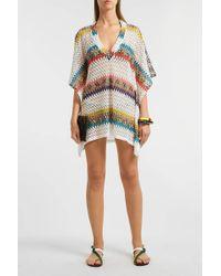 Missoni - Crochet-knit Kaftan - Lyst