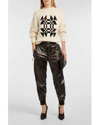 Isabel Marant - Aruso Shell Track Trousers - Lyst